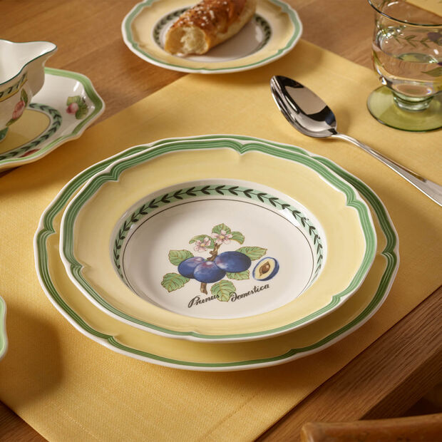 French Garden Valence Deep plate 23cm, , large