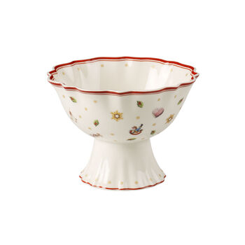Toy's Delight footed dessert bowl