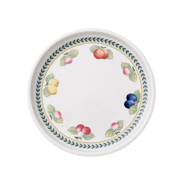 French Garden round serving plate 26 cm, , large