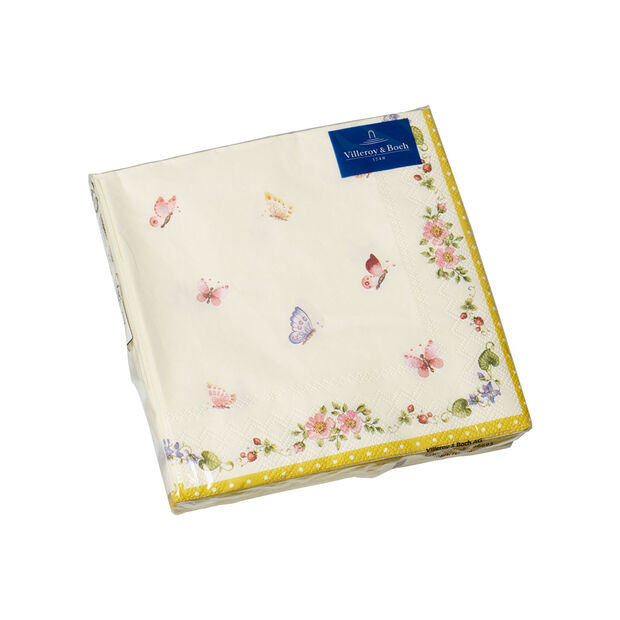 Easter Accessories napkins, butterfly, 25 x 25 cm, 20 pieces, , large