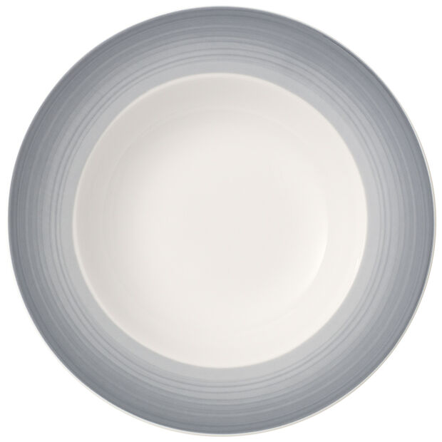 Colourful Life Cosy Grey Deep plate 25cm, , large