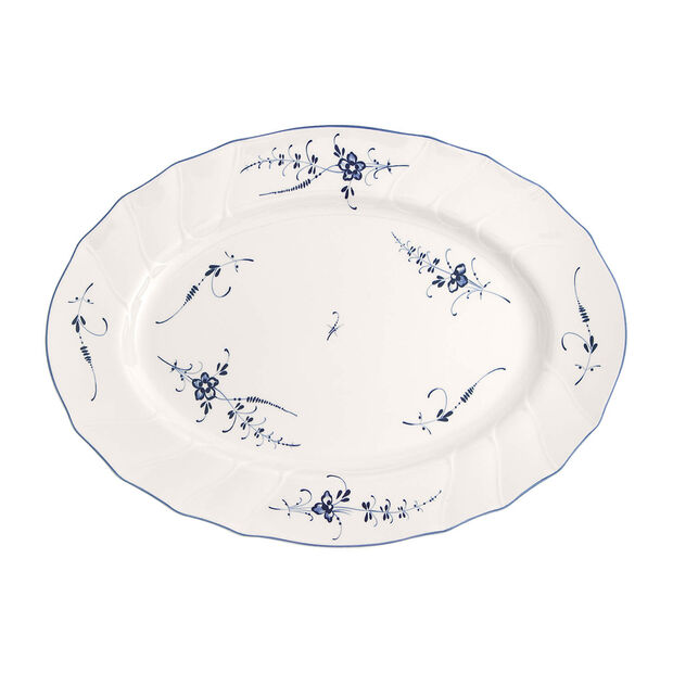 Old Luxembourg oval plate 43 cm, , large