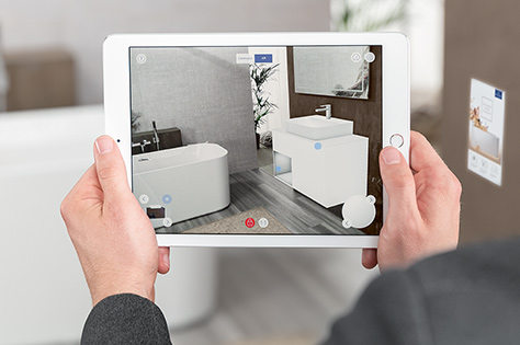 Augmented Reality bathroom planning - with Villeroy & Boch