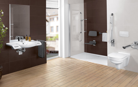 Create A Barrierfree Bathroom With Villeroy Boch Interesting Accessible Bathroom Design