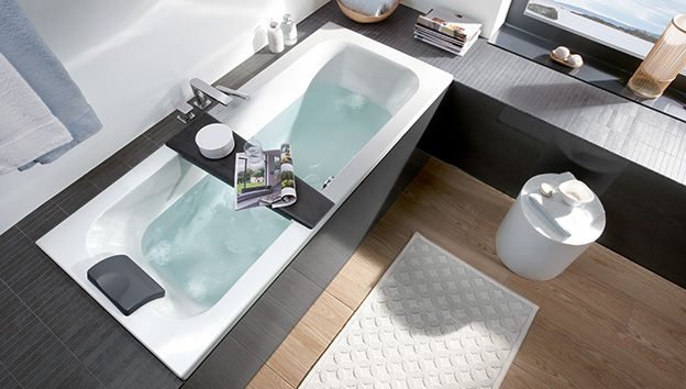install your new small bath villeroy boch