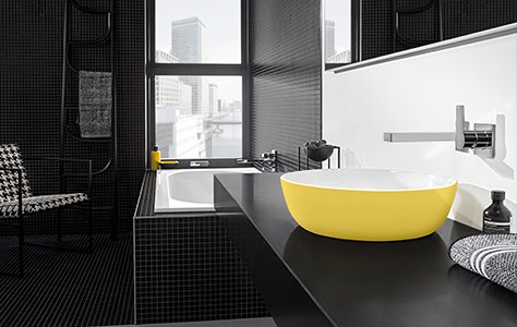 Colour in the bathroom - Winning Competition