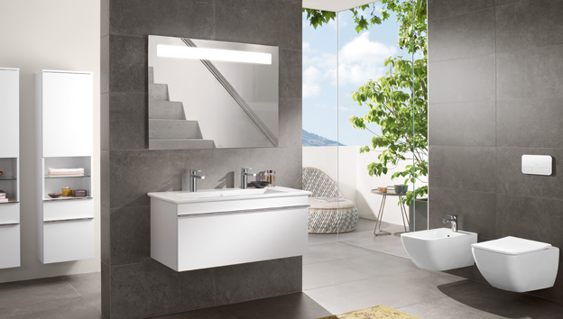 More to See   More to See 14   More to See One. The right way to use light in your bathroom   Villeroy   Boch