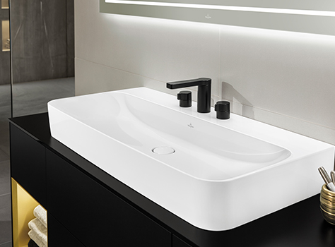 Perfect Ceramics For Pure Elegance With Novel Waschbecken