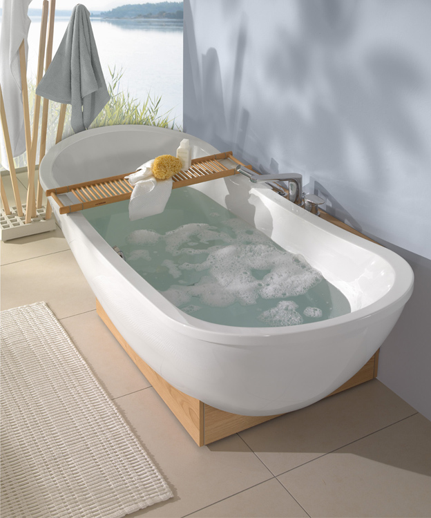 villeroy und boch badewanne freistehend my nature bathtub collection by an airy new design mp gross 03