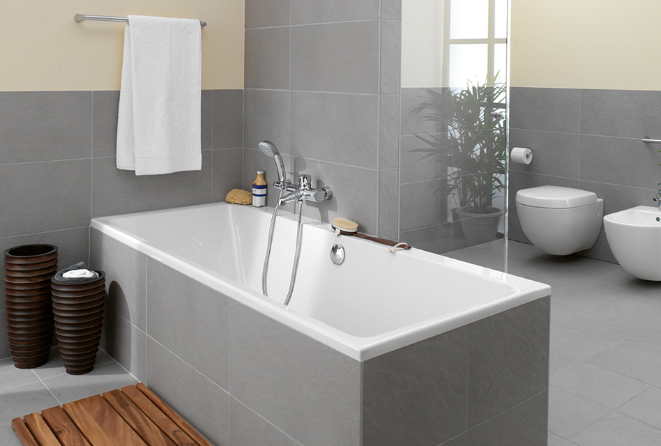 Subway bathtub. Collection Subway from Villeroy   Boch   Statement of