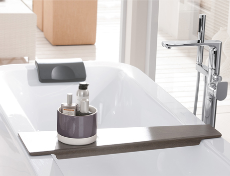 Fittings for the bathroom from villeroy boch for Bathroom accessories fitting