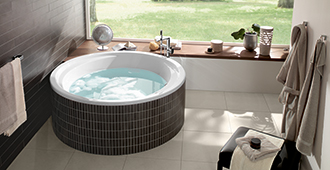 round baths - Villeroy And Boch Baths