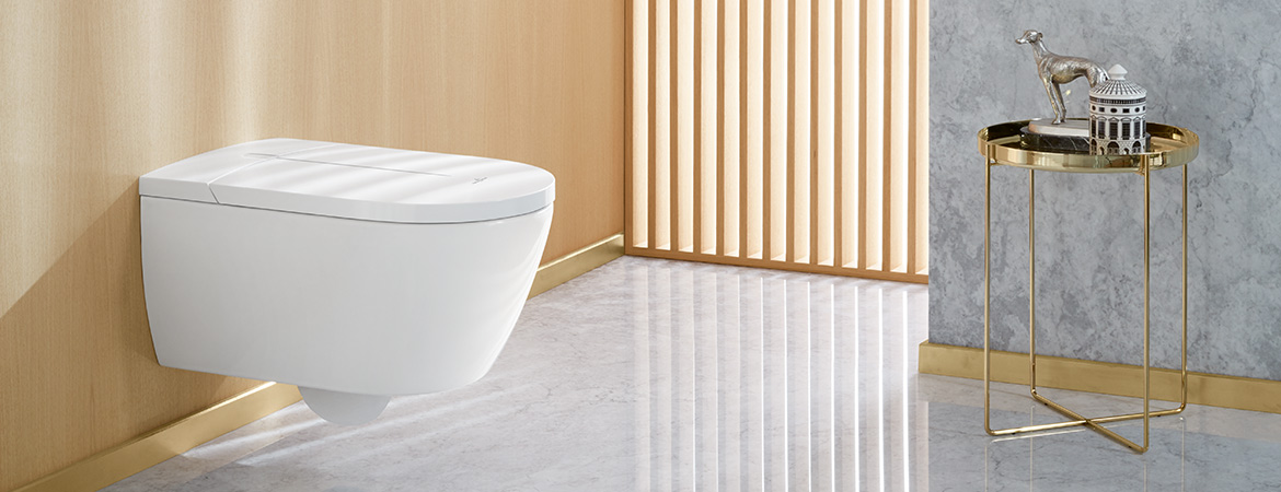 Shower toilets from Villeroy & Boch
