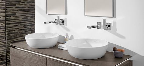 vanity units washbasins bathing with style villeroy. Black Bedroom Furniture Sets. Home Design Ideas