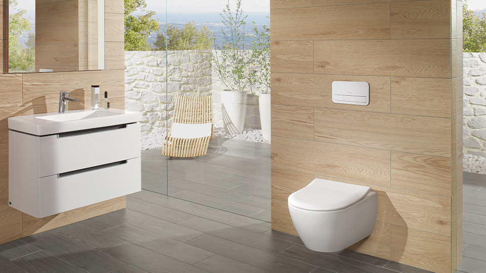 Our hygiene champion - The innovative toilet for quadruple cleanliness  | Villeroy & Boch