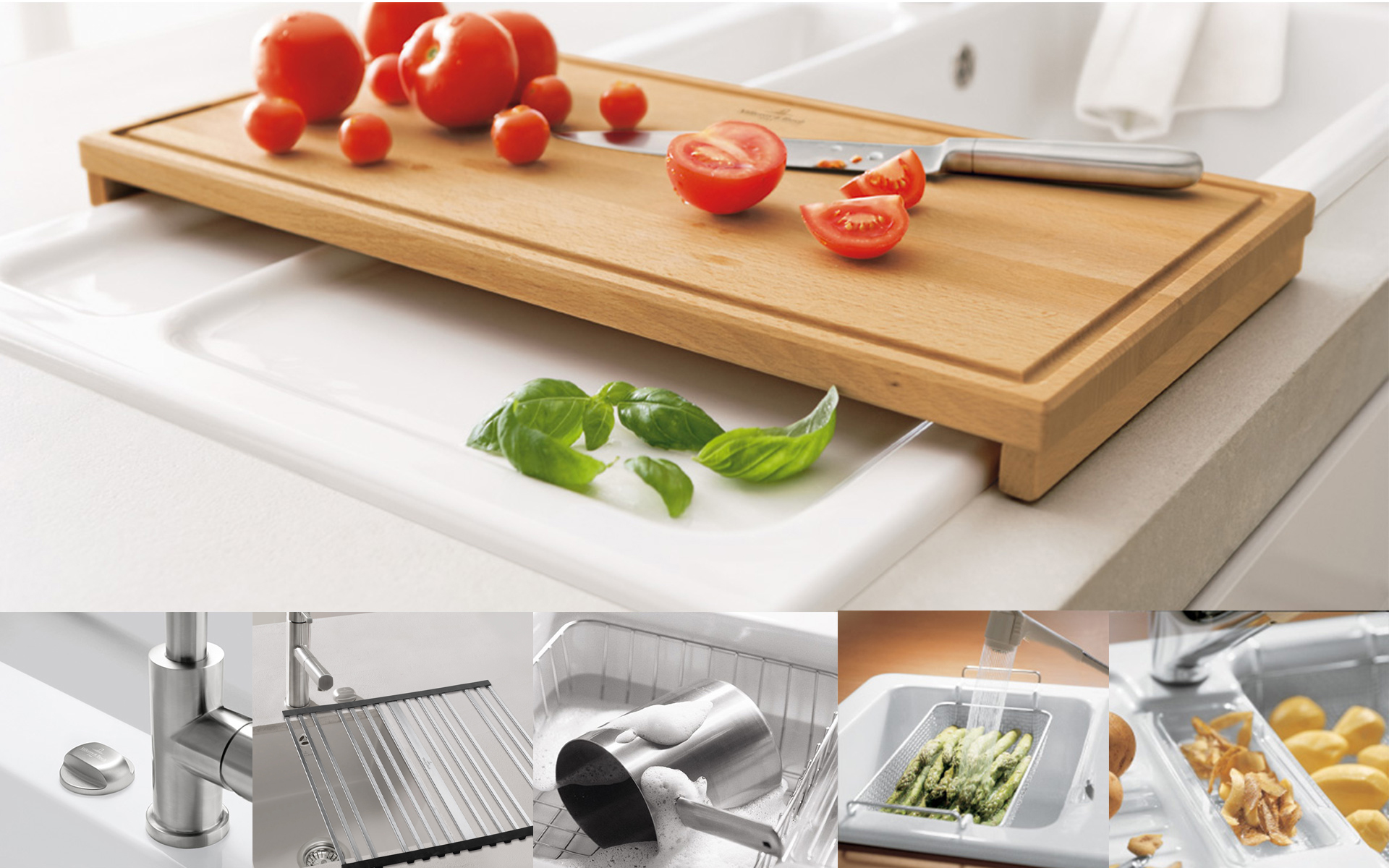 Kitchen accessories from villeroy boch for more fun in for Accessori in cucina