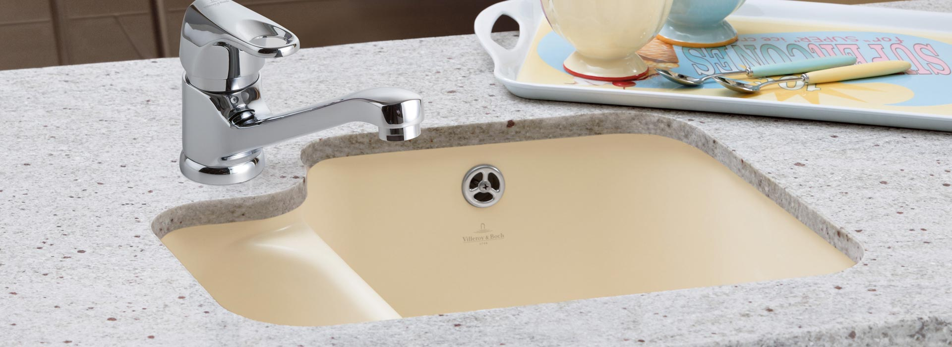 Premium-quality undercounter sink from Villeroy & Boch
