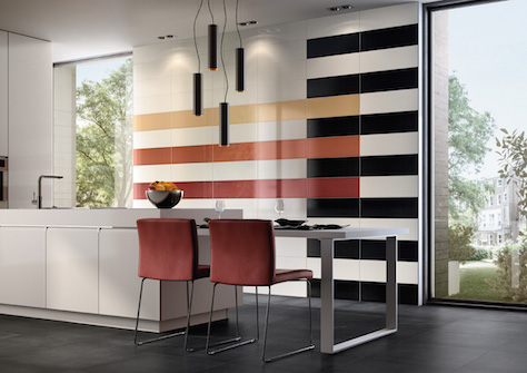 Highlights With Coloured Tiles