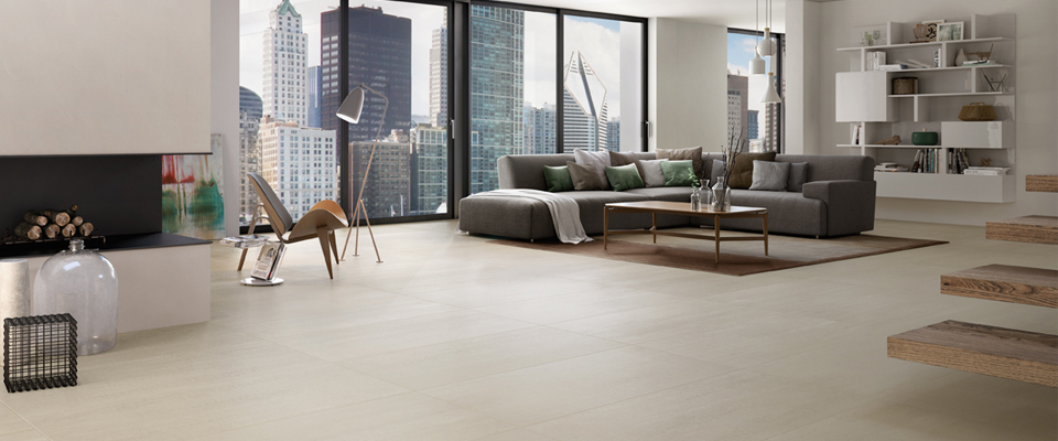 Collection pure line for Carrelage villeroy