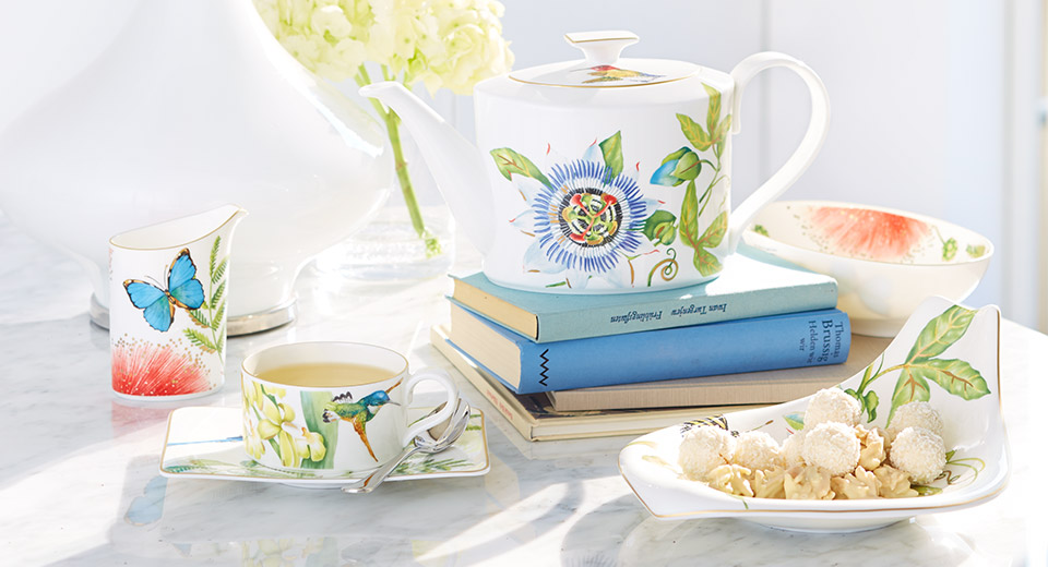 Amazonia tropical porcelain design villeroy boch - Villeroy and bosh ...