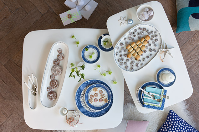 modern and traditional christmas tables from villeroy boch. Black Bedroom Furniture Sets. Home Design Ideas