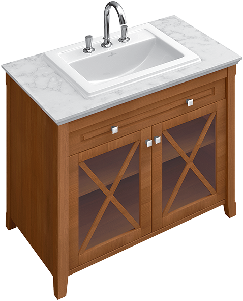 Hommage Bathroom Furniture, Vanity Unit For Washbasin, Bathroom Sink  Cabinets